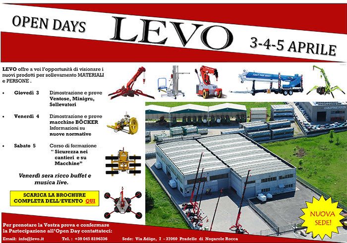 levo open day