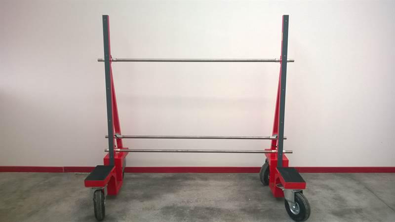 Carrello porta vetri 800 kg attrezzatura e accessori for Carrello porta ombrellone e sdraio