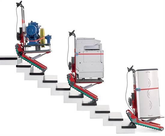 CARRELLO SALI-SCALE cingolato 400 kg - ATTREZZATURA E ACCESSORI