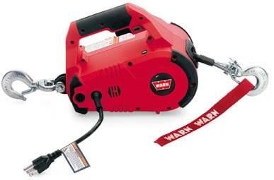 Verricello portatile pullzall 450 kg attrezzatura e for Argano elettrico 220v con telecomando